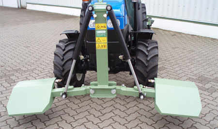 Double-sided herbicide boom - Msort